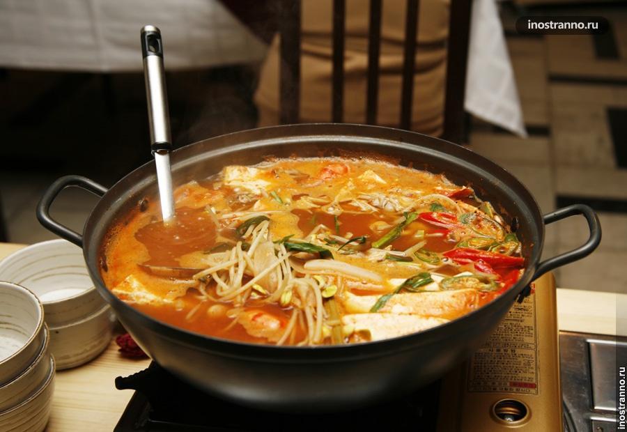Корейский суп Кук-си