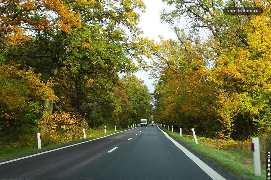 Дороги в Чехии