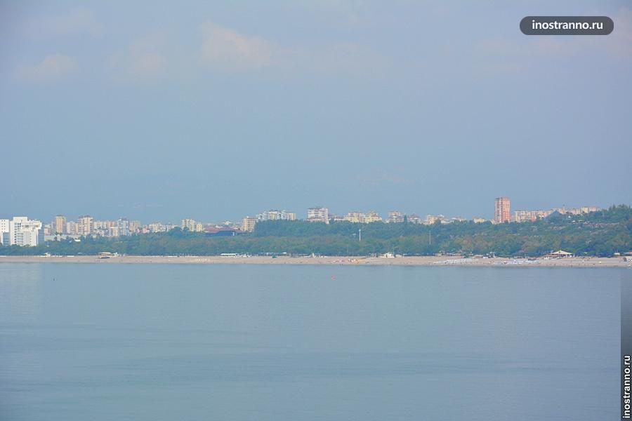 Анталия пляж Коньяалты