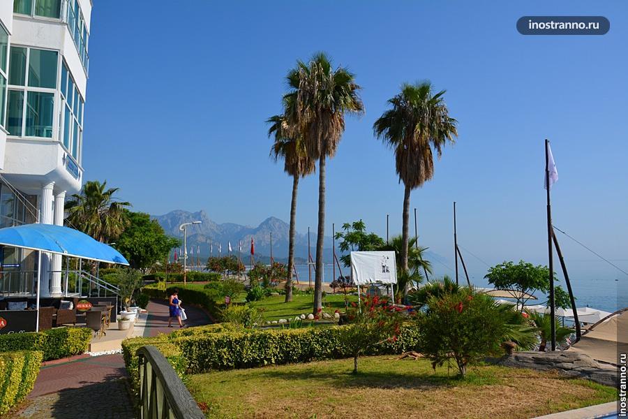 Курорт Кемер в Турции