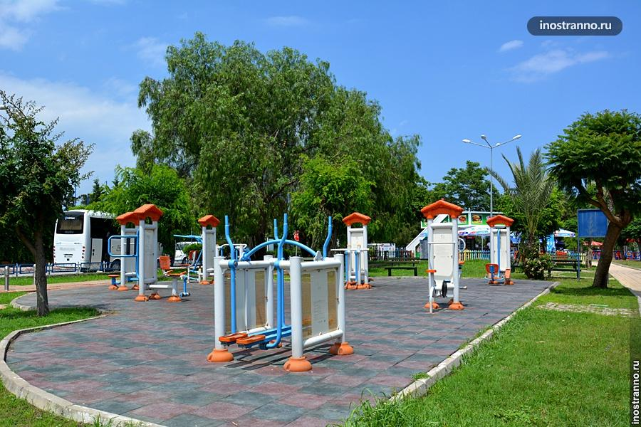 Спортивная площадка в Турции