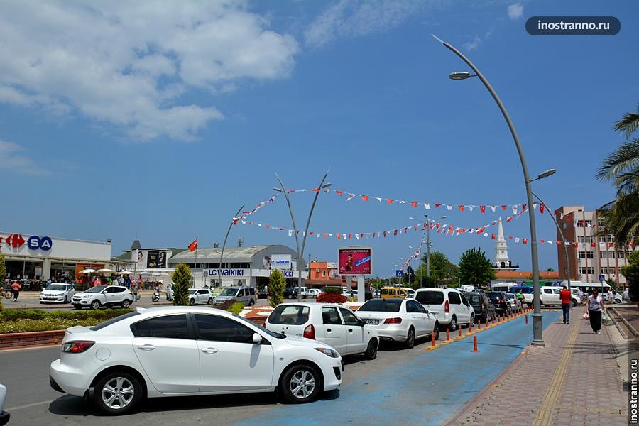 Автомобильный транспорт в Кемере, Турция