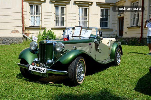 MG TD Car ретро авто из Англии