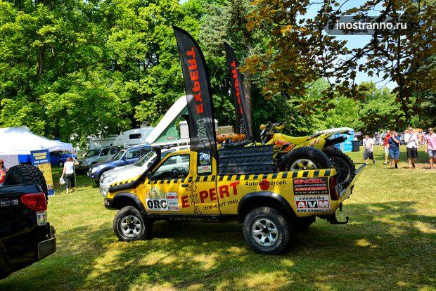 Toyota Hilux Tuning for Rally