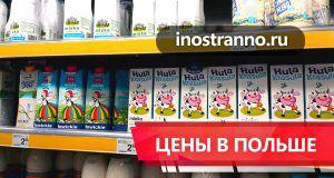 Цены в Польше на продукты, проезд, рестораны, недвижимость