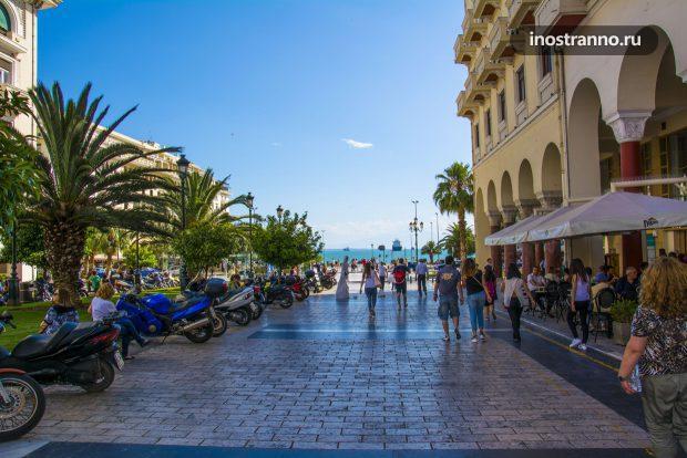 Греческий курорт