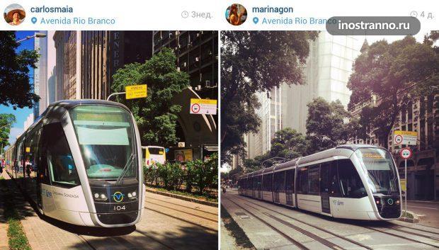 Скоростной трамвай в Рио-де-Жанейро