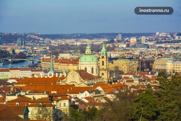 Панорама Праги
