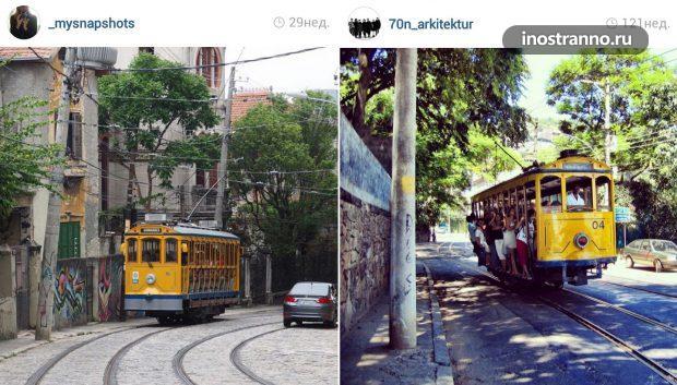 Трамвай Санта Тереза в Рио