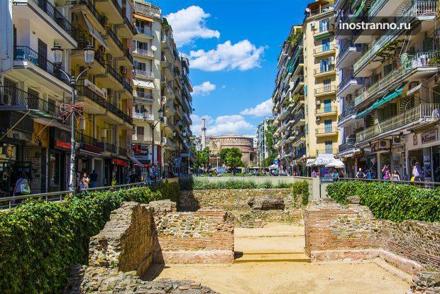Улица города Салоники