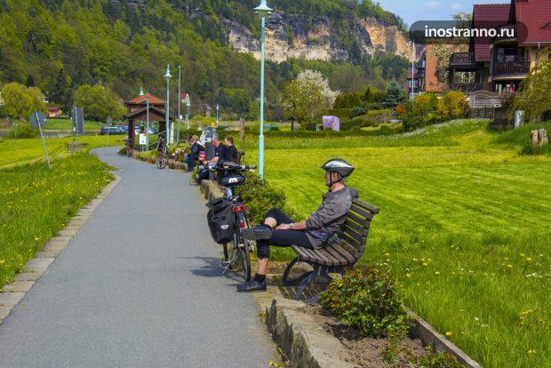 Прогулки на велосипеде по Германии