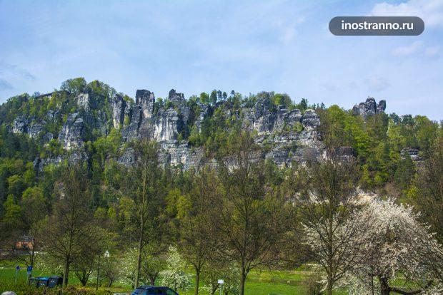 Саксонская Швейцария горы