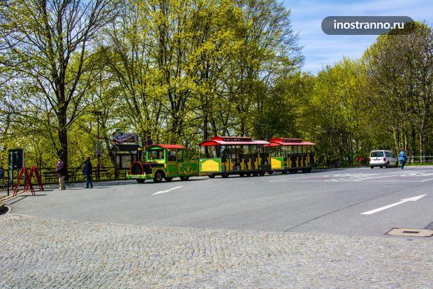 Саксонская Швейцария поезд в Кёнигштайн