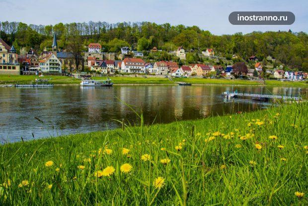 Штадт-Велен городок в Саксонии