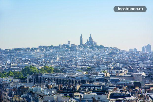 Базилика Сакре-Кер на холме Монмартр