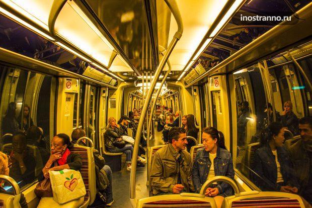 Линия 1 Парижское метро