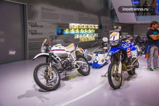 БМВ мотоциклы для ралли