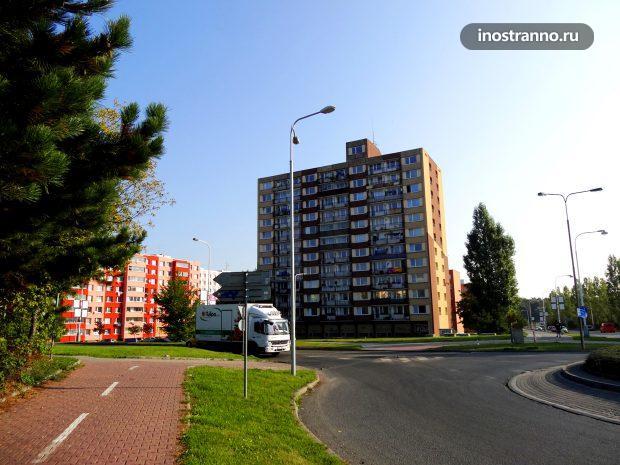 Дома в Кладно, Чехия