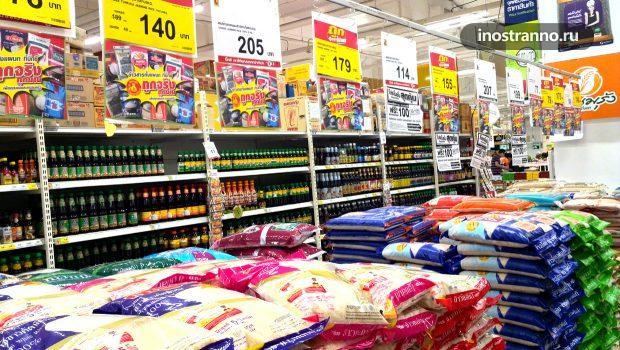 Купить рис на Пхукете