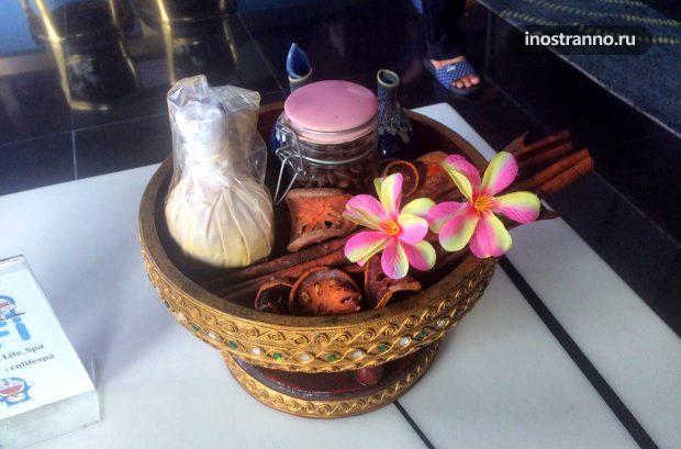 Тайский массажный набор