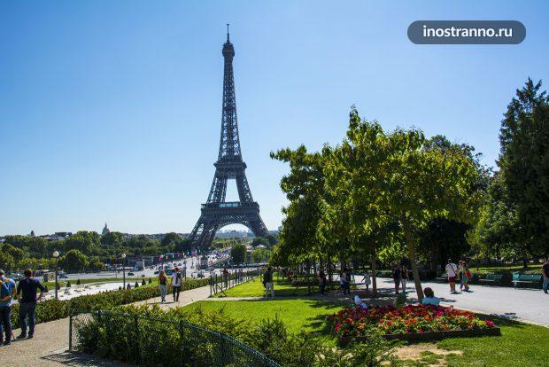 Марсово поле, парк в Париже