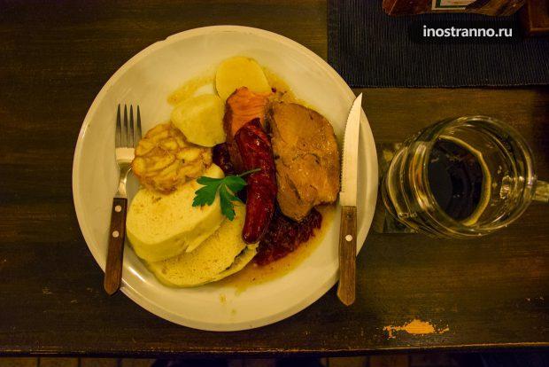 Чешская еда