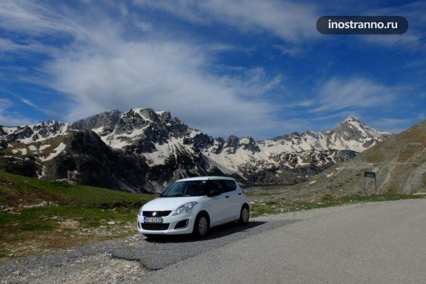 Аренда автомобиля в Черногории