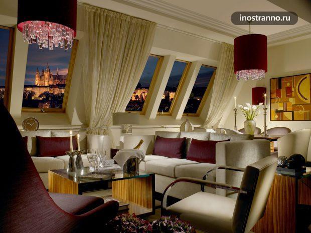 Radisson Blu Alcron Hotel Отель в Праге 5 звезд
