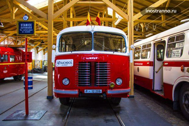 Чешский автобус Skoda 706 RO