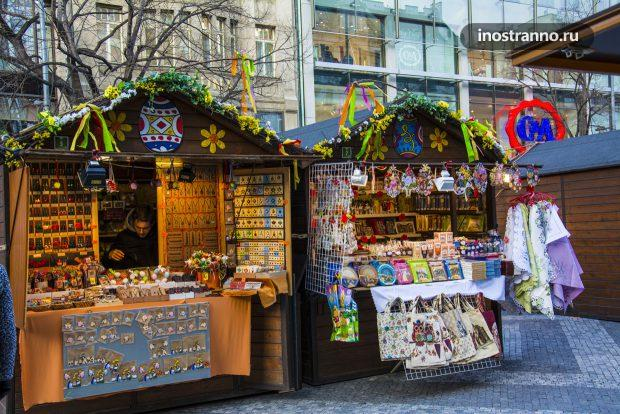 Рынок на Пасху в Праге, весна