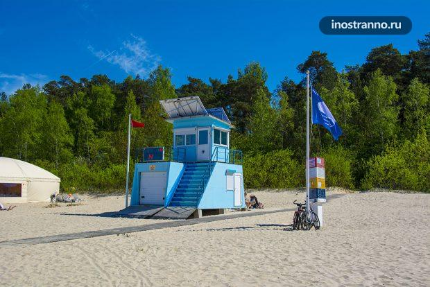 Пляж в Латвии