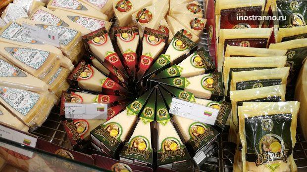 Литовский сыр в Риге