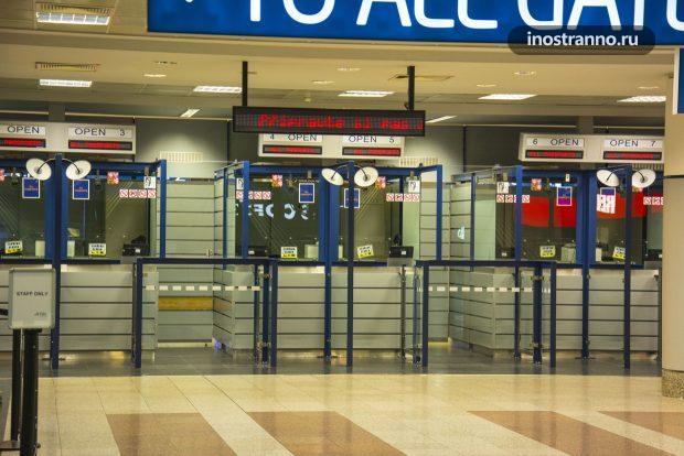 Паспортный контроль в аэропорту ЕС, Шенген