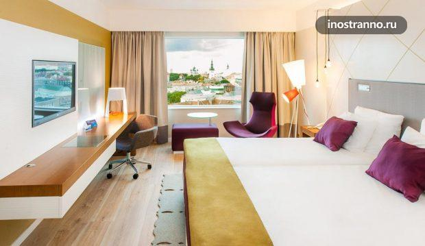 Лучший отель Таллина Radisson Blu Sky Hotel