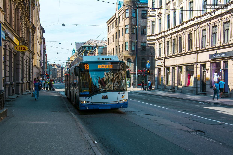 Рига троллейбус