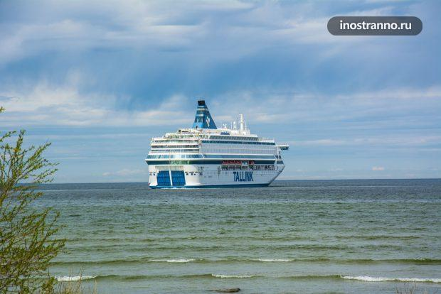 Круизный лайнер Tallink