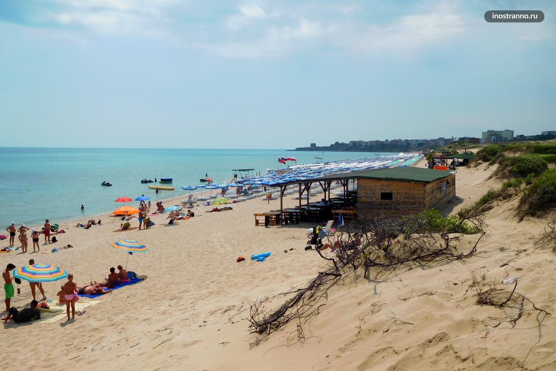 Северный пляж в Приморско, Болгария