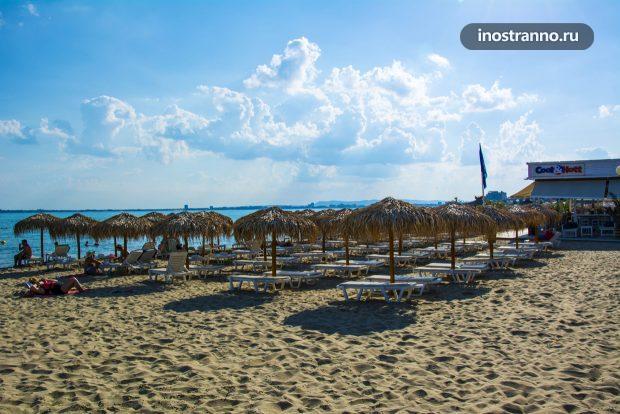 Пляж в Святом Власе, Болгария