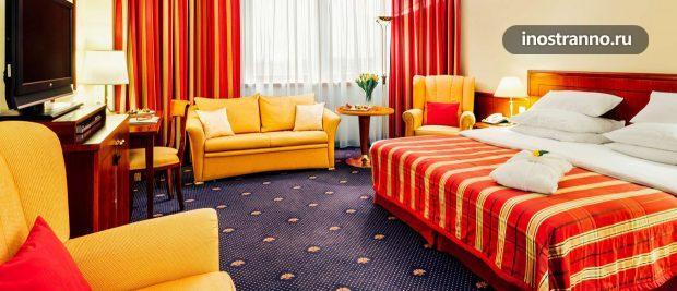 Отель Vienna House Diplomat Prague
