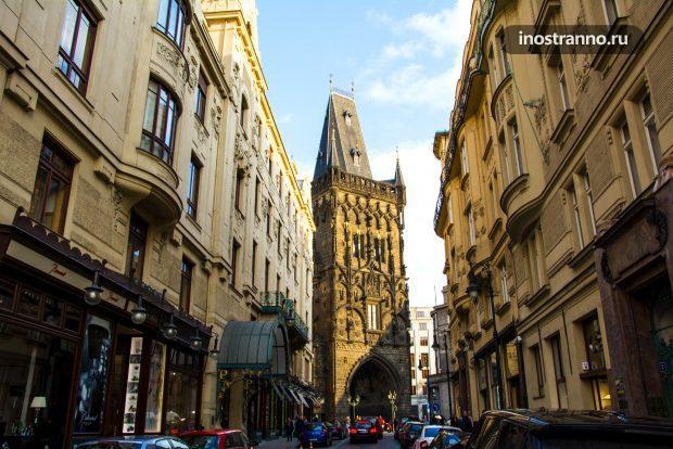 Улица Celetna в Праге