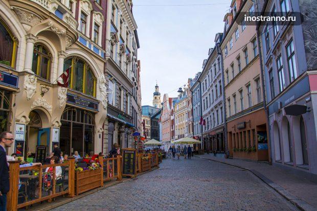 Улочки старого города Риги