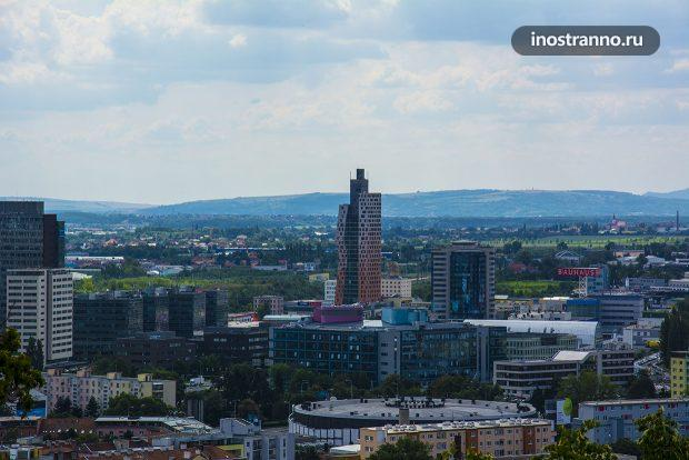 AZ Tower Самое высокое здание в Чехии, Брно