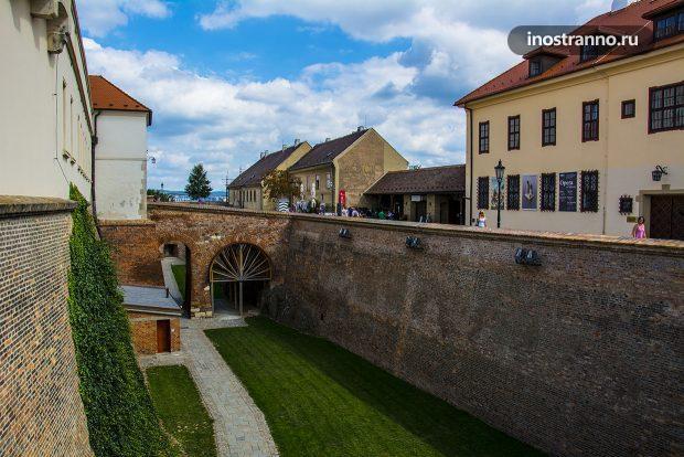 Замок Шпильберк главная достопримечательность в Брно