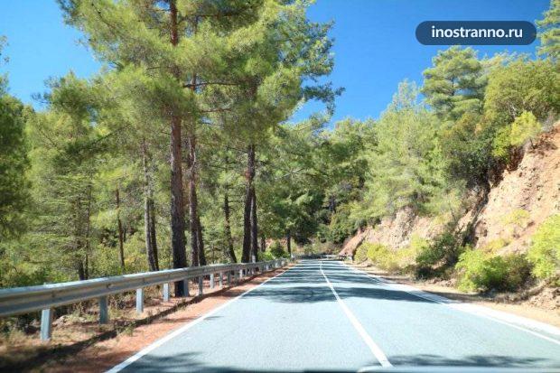 Дорога на Кипре