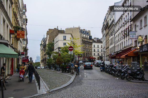 Маленькие улочки Монмартра