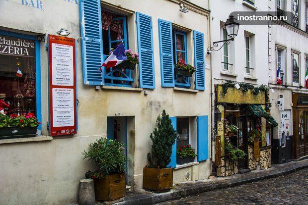 Типичный ресторан в Париже