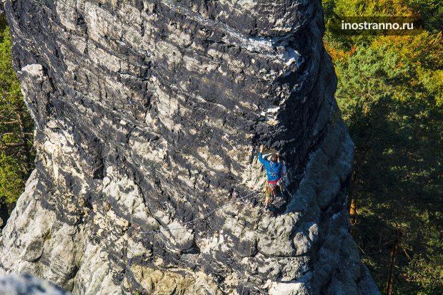 Альпинизм в Чехии