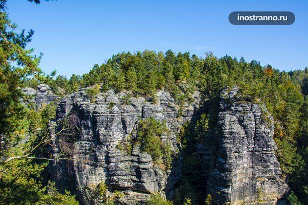 Скальные формы в Чехии