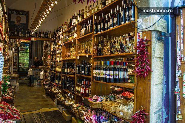 Сувенирный магазин в Сентендре