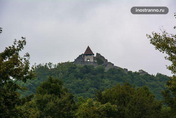 Крепость Вышеград в Венгрии